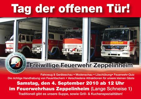 4. September 2010 – Tag der offenen Tür Feuerwehr Zeppelinheim