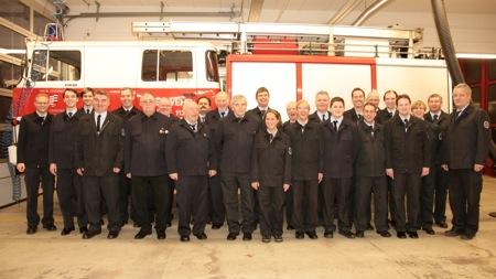 Gruppenbild der Feuerwehr