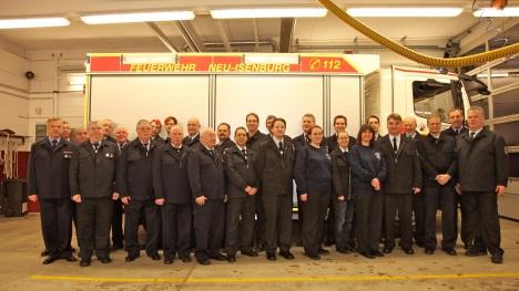 Gruppenbild anläßlich der Jahreshauptversammlung 2012