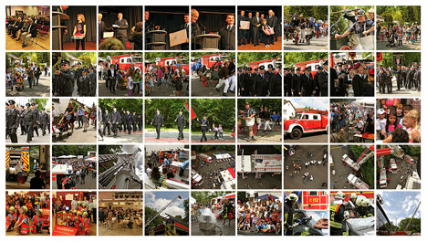 Bilder vom Jubiläumsfest der Feuerwehr Zeppelinheim im Mai 2012