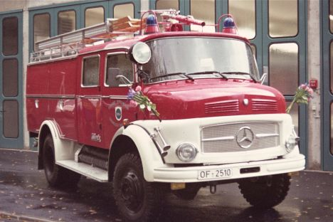 TLF bei der Übergabe im Jahre 1974