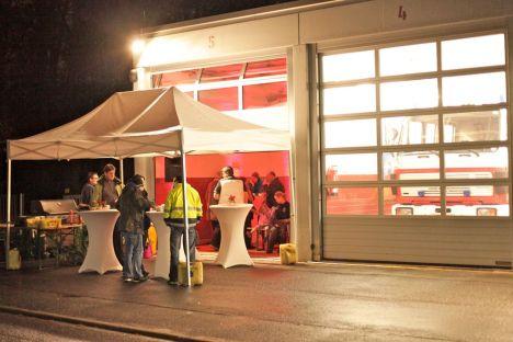 Feuerwehr Zeppelinheim Adventsstand