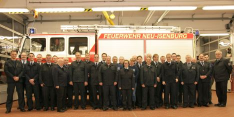Feuerwehr Zeppelinheim Gruppenbild 2016