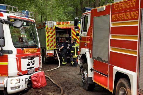 Wasserversorgung mit Einspeisung der Brandstellenpumpe im Pendelverkehr