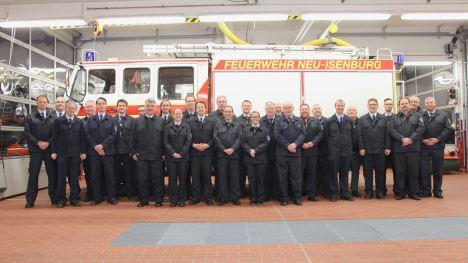 Feuerwehr Zeppelinheim Gruppenbild 2017