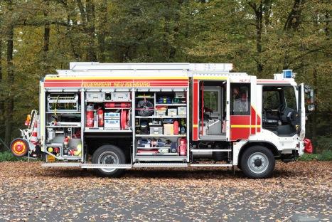 HLF 20 - rechte Fahrzeugseite